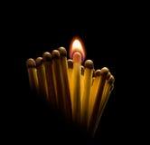 Incendie de la révolution 1. Image libre de droits