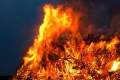 Incendie de Pâques Images stock
