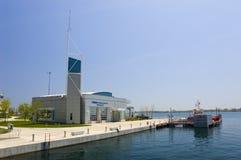 Incendie de Toronto, gare marine Photos stock