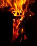 Incendie et flammes Photo stock
