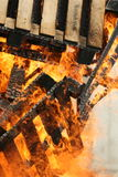Incendie et flammes Image libre de droits