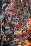 Incendie et flammes images libres de droits