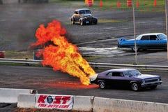 Incendie et fumée II Images stock