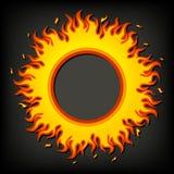 Incendie, flamme illustration de vecteur