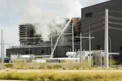 Incendie industriel 1 Photos libres de droits