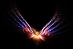 incendie Phoenix d'oiseau Photo libre de droits