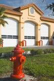 Incendie Station2 Photographie stock libre de droits