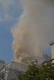 Incendie sur le brin, Londres Photographie stock libre de droits
