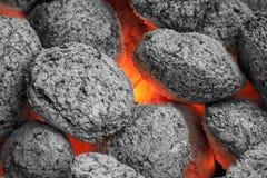 Incendie vers le bas ci-après Photographie stock libre de droits