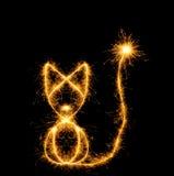 incendies de chat du Bengale photo stock
