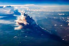 Incendio del sottobosco di Miami immagini stock libere da diritti