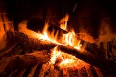 Incendio doméstico vibrante Foto de archivo libre de regalías