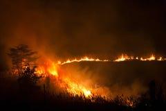 Incendio fuera de control 2 Fotografía de archivo libre de regalías