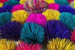 Incense. Various colors of Incense in Hoi An, Vietnam Royalty Free Stock Photos