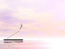 Incense - 3D render Stock Image