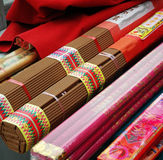 Incense. Some bunches of  joss-sticks Royalty Free Stock Photos