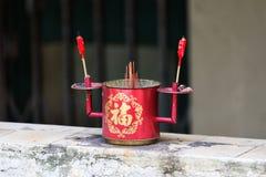 Incense altar. Royalty Free Stock Photos