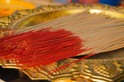 Incense for the altar Royalty Free Stock Image