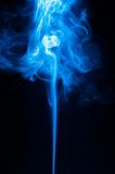 Incense blue smoke Royalty Free Stock Image
