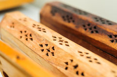 Incense Boxes Royalty Free Stock Photography