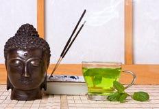 Incense for buddha stock photos