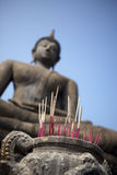 Incense for the Buddha Stock Photography