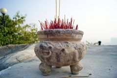 Incense burner Stock Photos