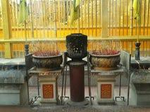 Incense burner. Buddha at chiangmai Royalty Free Stock Photos
