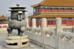 Free Incense Burner Forbidden City Royalty Free Stock Image - 33173026