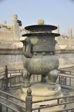 Incense burner Forbidden City Royalty Free Stock Image