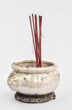 Incense burner stock photo