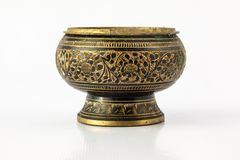 Incense burner made of brass Stock Photography