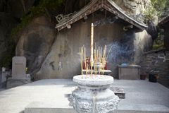 Incense burner Mazu temple Stock Photography
