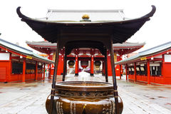 Incense burner/Sensoji Asakusa Temple Royalty Free Stock Photo