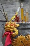 Incense burner statue royalty free stock images