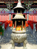 Incense burner of Xiangshan Temple Royalty Free Stock Photography