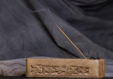 Incense Burning Royalty Free Stock Photo