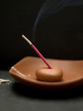 Incense burning Royalty Free Stock Photography