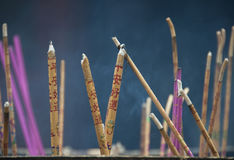 Incense Burning, Beijing Royalty Free Stock Photography