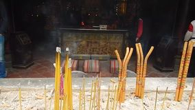 Incense stock footage