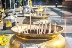 Incense burning Stock Image