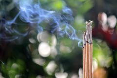 Incense Stock Photography
