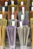 Incense colors Stock Images