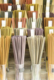 Incense colors Stock Photography