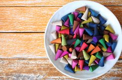 Free Incense Cones Royalty Free Stock Photos - 100189248