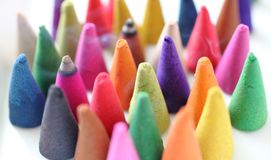 Incense cones is colorful Stock Photo