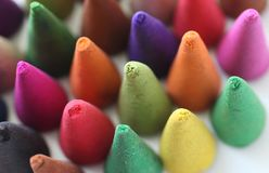 Incense cones. Is colorful, relax and fragrant Stock Photo