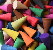 Incense cones Stock Photography