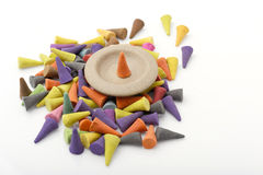 Incense cones. Royalty Free Stock Images
