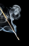 Incense in the dark Royalty Free Stock Photography